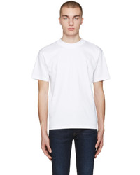 Acne Studios White Naples Lux T Shirt