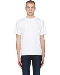 Acne Studios White Naples Lux T Shirt
