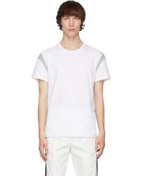 Alexander McQueen White Paneled T Shirt