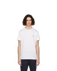 Lacoste White Pima Cotton T Shirt