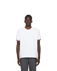 Thom Browne White Pique T Shirt
