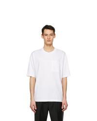 Acne Studios White Pocket T Shirt