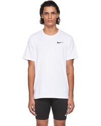 Nike White Pro Dri Fit T Shirt