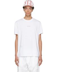 Valentino White Red Logo T Shirt