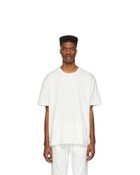 Essentials White Reflective Logo T Shirt