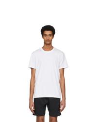adidas Originals White Ro 3 Stripes T Shirt