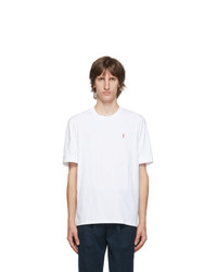 Neil Barrett White Slim Fit Logo T Shirt