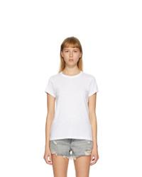 Rag and Bone White The Tee T Shirt