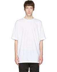 Helmut Lang White Uni Sleeve T Shirt
