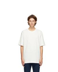Fendi White Velour Forever T Shirt