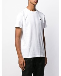 Ps By Paul Smith Zebra Motif T Shirt