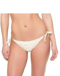 White Crochet Bikini Pant