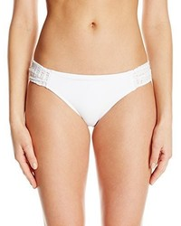 Anne Cole Lace Crochet Side Tab Bikini Bottom