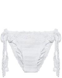 Anna Kosturova Crochet Tie Side Bikini Briefs