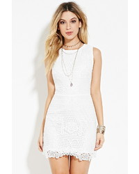 Cutout back crochet dress medium 422729