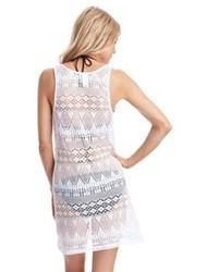 94307946e0060 ... Ralph Lauren Blue Label Crochet Cover Up Swim Dress