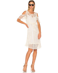 See by Chloe Crochet Midi Dress In White Size S