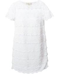 MICHAEL Michael Kors Michl Michl Kors Scalloped Crochet Knit Dress