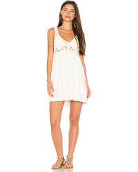 Sweet sounds crochet dress in ivory size l medium 5449756