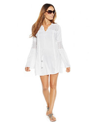 Raviya Crochet Accent Tunic Cover Up