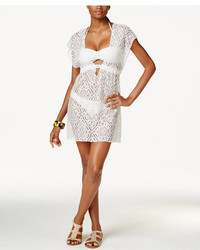 Becca Crochet Lace Tunic Cover Up