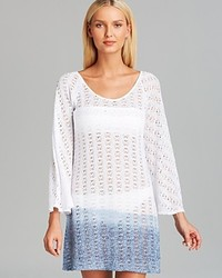 Debbie Katz Chiara Crochet Tunic Swim Cover Up