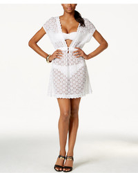 Dotti Deep V Crochet Cover Up