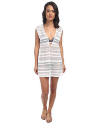 Lauren Ralph Lauren Horizon Crochet Sleeveless Dress Cover Up
