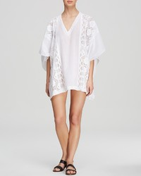 OndadeMar Lace Mesh Poncho Swim Cover Up