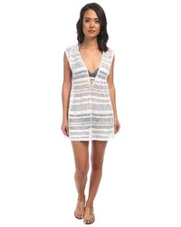 Ralph Lauren Lauren By Horizon Crochet Sleeveless Dress Cover Up