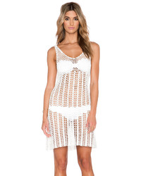 Glamorous Mini Crochet Dress