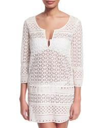 Diane von Furstenberg Montauk Crocheted Tunic Coverup