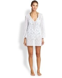 Milly Mykonos Crocheted Tunic