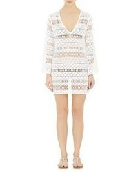 Milly Mykonos Long Sleeve Tunic White