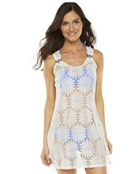 Porto Cruz Portocruz Sunflower Crochet Cover Up