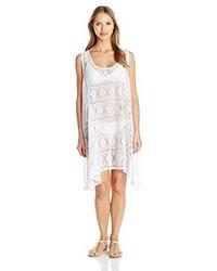 Profile By Gottex Tutti Frutti Crochet Dress Cover Up