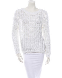 Sandro Crochet Sweater W Tags