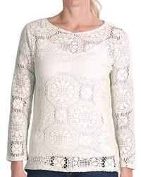 Dylan Moroccan Tile Crochet Shirt