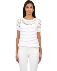 Santorini tee in white medium 64275