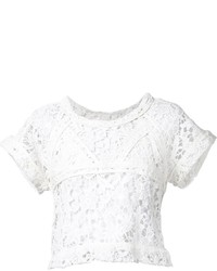 IRO Cropped Crochet Top