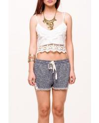 La Roxx Crochet Trim Top