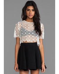 Alexis Lisette Crochet Crop Top