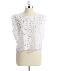 Vince Camuto Two By Crocheted Crop Top