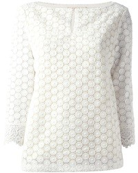 Tory Burch Crochet Blouse