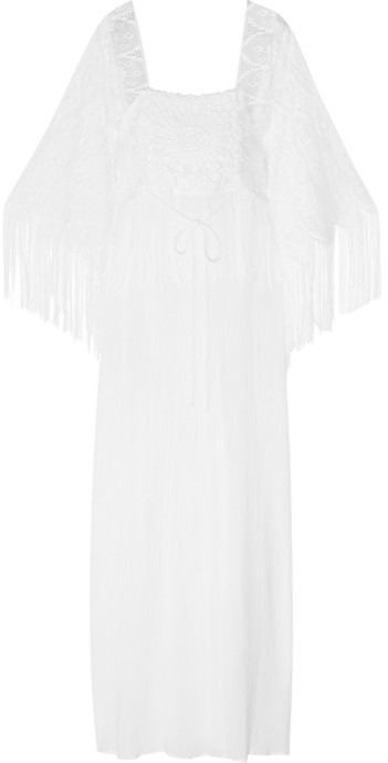 White Cotton Gauze Blouses 66