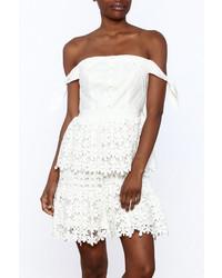 Ina Spring Fling Crochet Dress