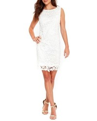 Crochet lace shift dress medium 4913964
