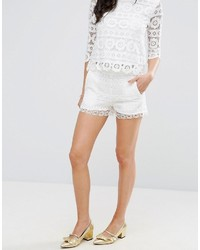 Castaway crochet shorts medium 3727876