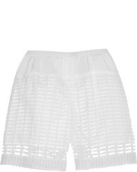 Chloé Crocheted Lace Shorts