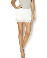 Esley Floral Crochet Short